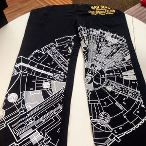 NWT Star War pajamas bottoms small